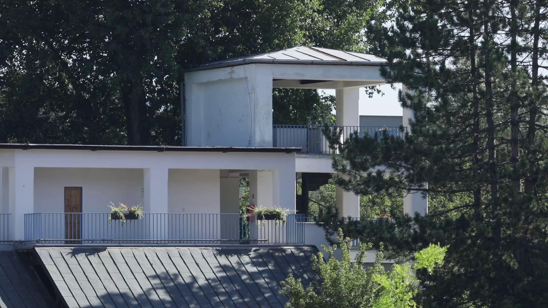 Říční lázně Riviéra a architekt Petr Hrůša